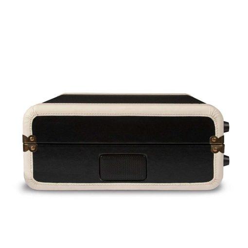 Crosley Executive USB Portable Turntable - Black-CLOSED CASE BACK