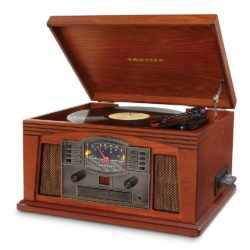 Crosley Lancaster Entertainment Center - Paprika-SIDE