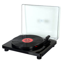 HolySmoke Record Player Black-color-Photo-FRONT