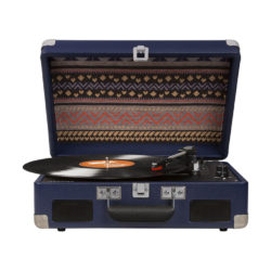 Blue Crosley Cruiser Portable Turntable With Battery Pack - Front