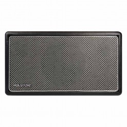 Black HolySmoke Birdwood Bluetooth Retro Speaker - Front