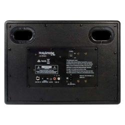 Black HolySmoke Joy Street Bluetooth Retro Speaker - Back