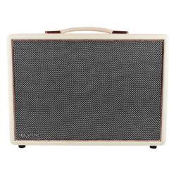 White & Rose Gold HolySmoke Joy Street Bluetooth Retro Speaker - Front