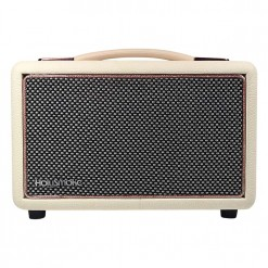 White & Rose Gold Speaker With Bluetooth