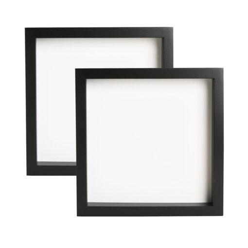 Buy Holysmoke Vinyl Record Display Frames 2 Pack Black