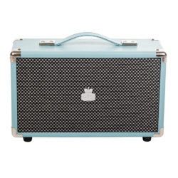 GPO westwood bluetooth speaker skyblue frontview