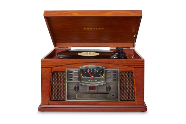 Wooden record player Crosley lancaster