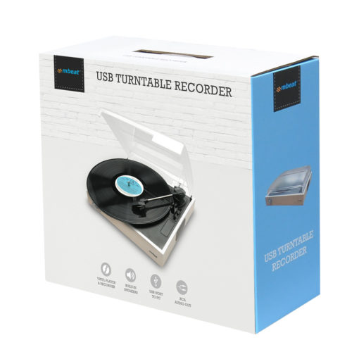 Image of box for mbeat usb turntable recorder