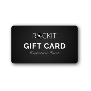 Rockit record players gift card experience music