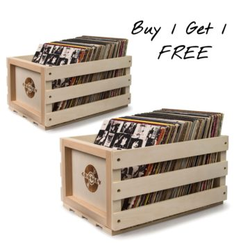 Buy 1 get 1 free Crosley storage crate offer