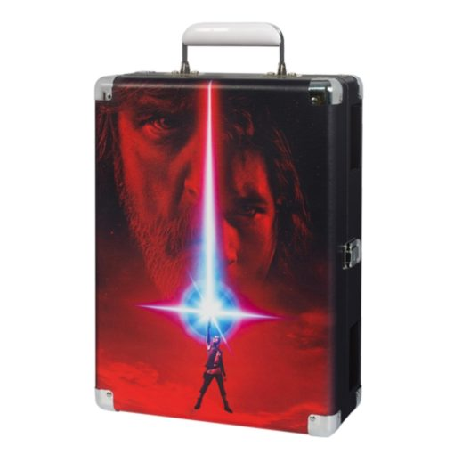 Outside view of Star Wars last Jedi case