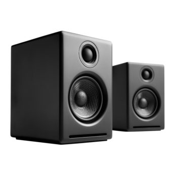 Image of black Audioengine 2+ Powered Speakers