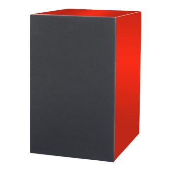 Photo of Pro-Ject Speaker Box 5 Bookshelf Speakers - High Gloss Red with cover