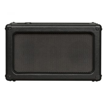 Front image of black Crosley Charlotte Speaker