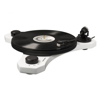Photo of Crosley C3 turntable in white colour