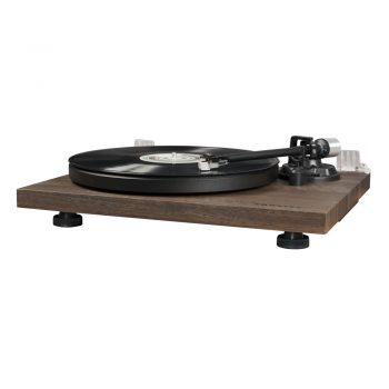 Photo of Crosley C6 Turntable in walnut finish