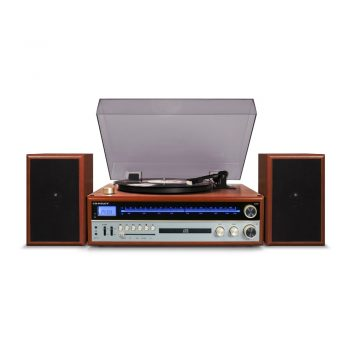 Photo of Crosley 1975T Entertainment System with speakers