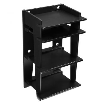 Image of black Crosley SOHO Turntable Stand